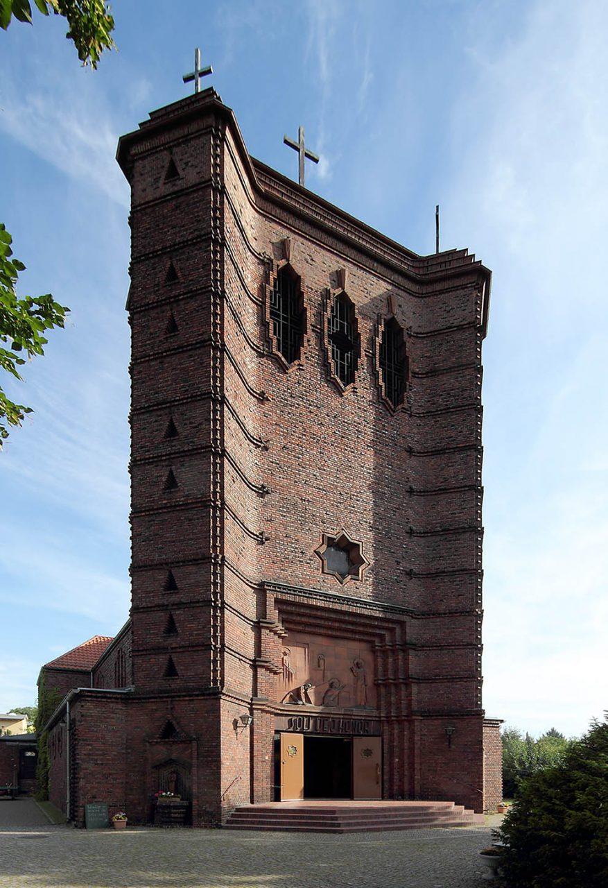 Maria-Magdalenen-Kirche. 1929-30 von Felix Sturm