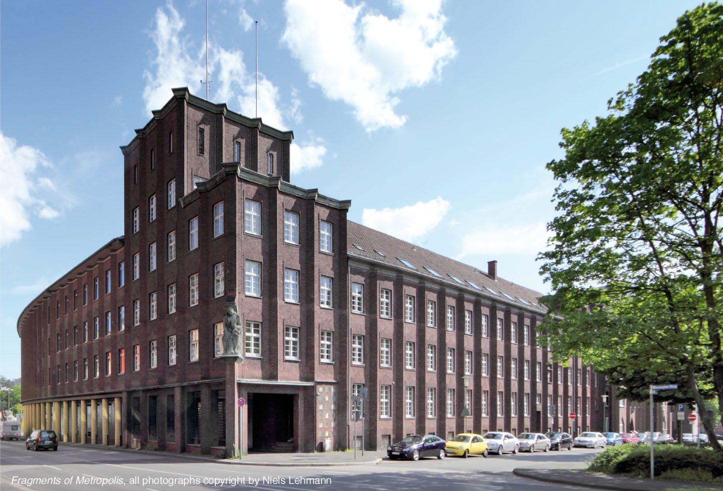 Hagen Finanzamt.  1925-26 von Alfred Reischig