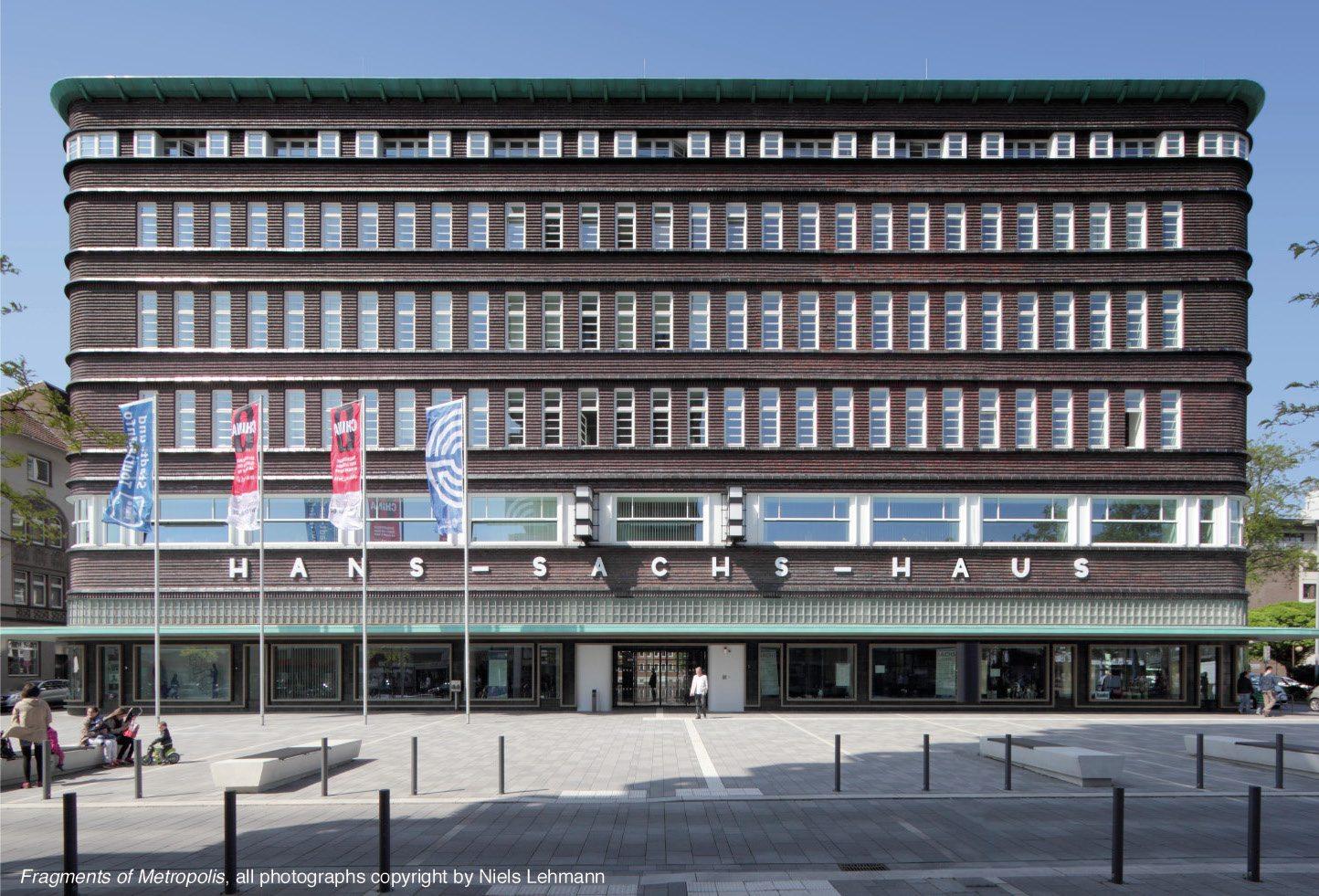 Hans Sachs-Haus. in Gelsenkirchen, 1924–1927 von Alfred Fischer