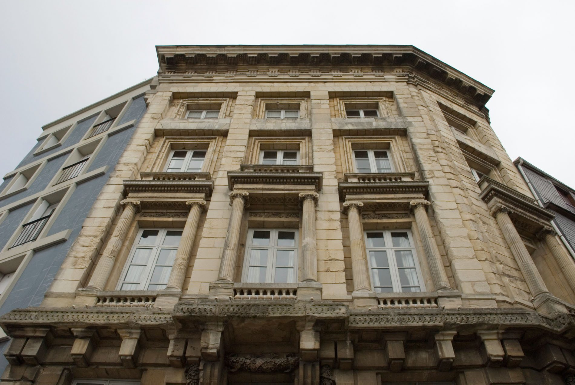 Parcours Les Bassins.  ... oder das Maison de l'Armateur (Haus des Reeders).