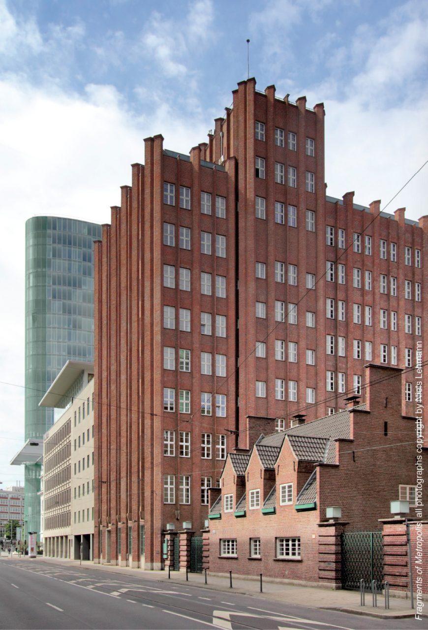 Verwaltungsgebäude Stumm-Konzern. in Düsseldorf, 1922-1925 von Paul Bonatz