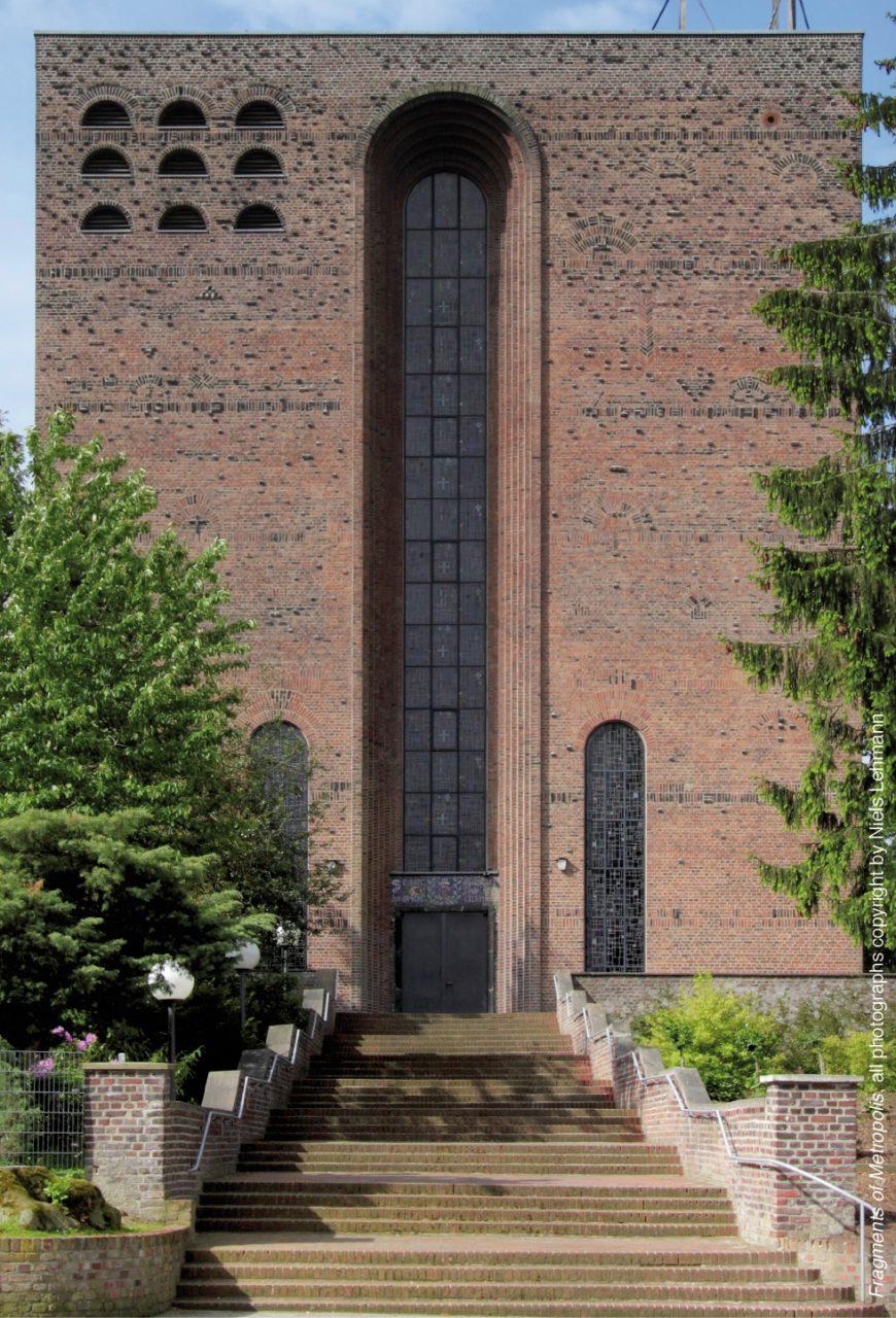 St. Kamillus. in Mönchengladbach, 1929–1931 von Dominikus Böhm