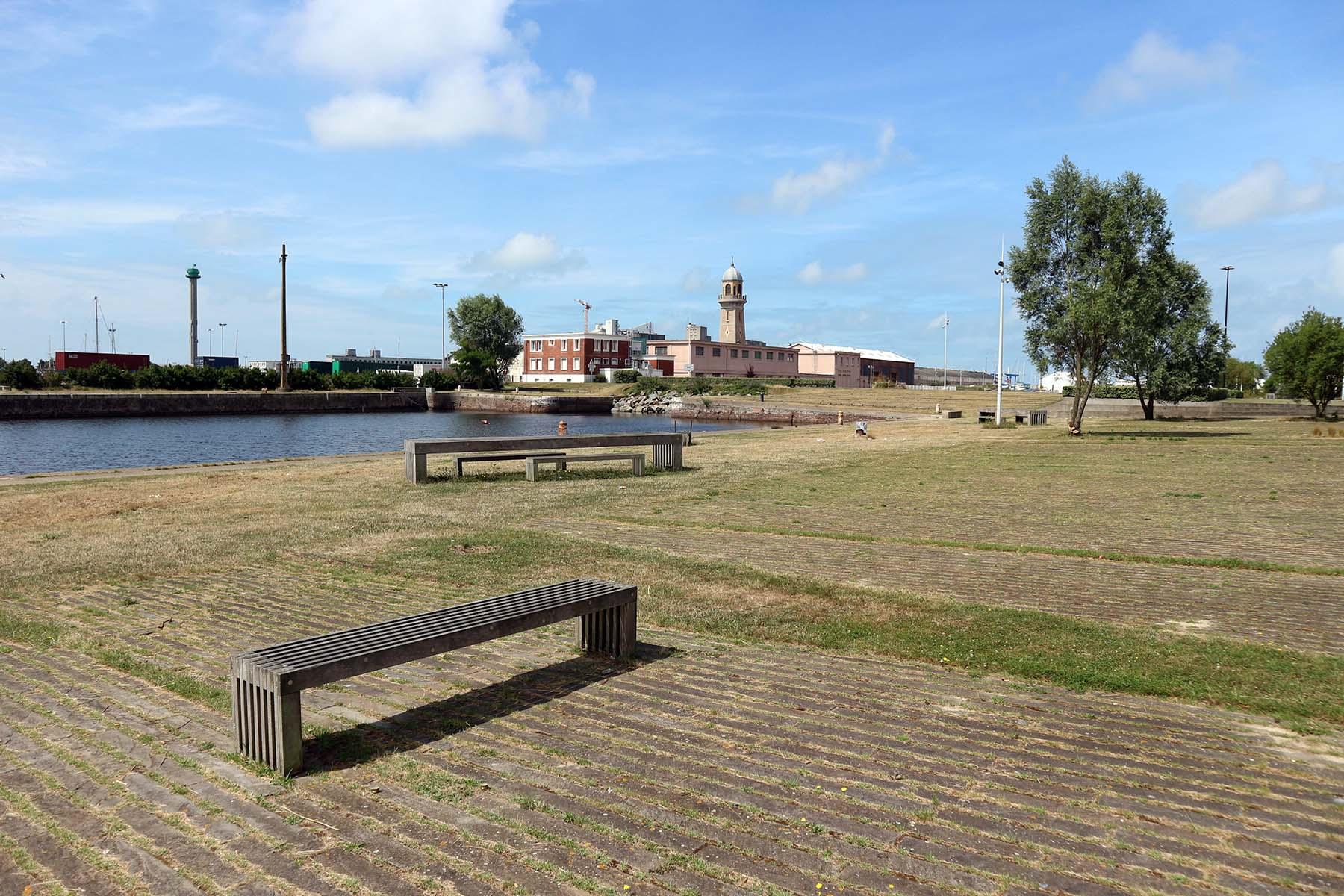 Parcours Les Bassins. Knapp ein Kilometer Idylle im Quartier Süd, der Jardin Fluvial.