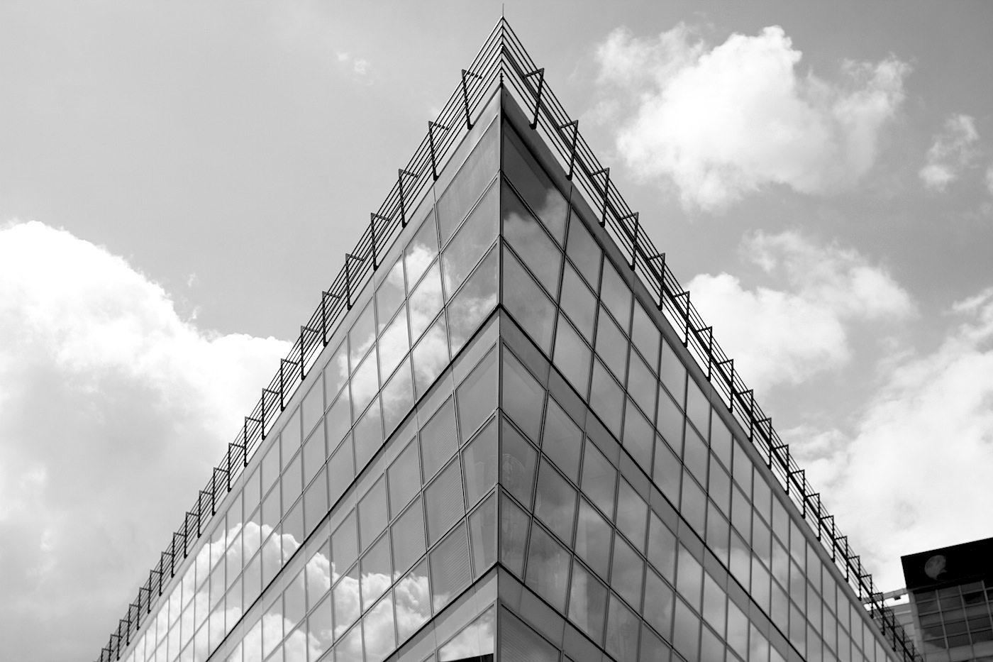 Kai-Center.  Von Döring Dahmen Joeressen. Fertigstellung 1996.