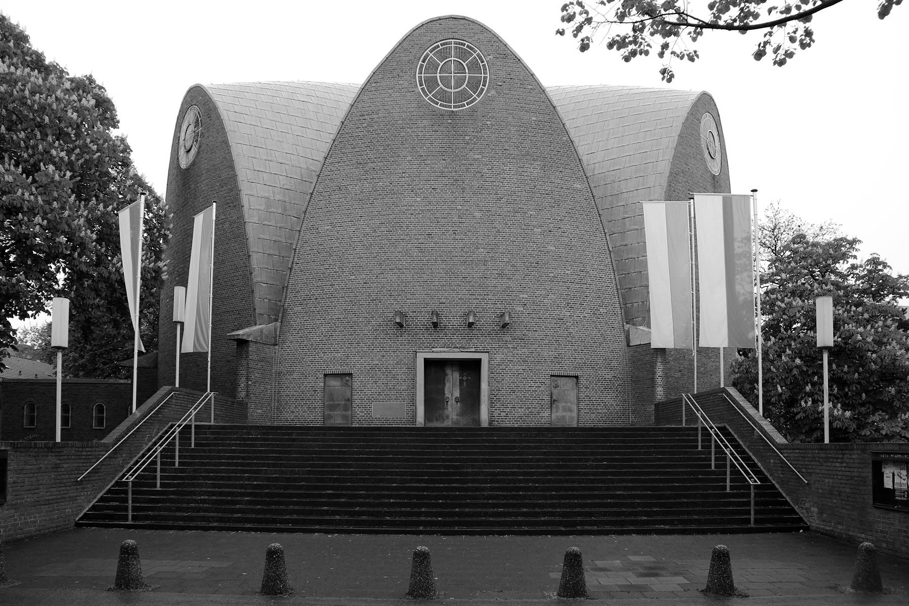 St. Engelbert.  Catholic church by Dominikus Böhm. Completion: 1932. Riehler Gürtel 23, 50735 Köln-Riehl