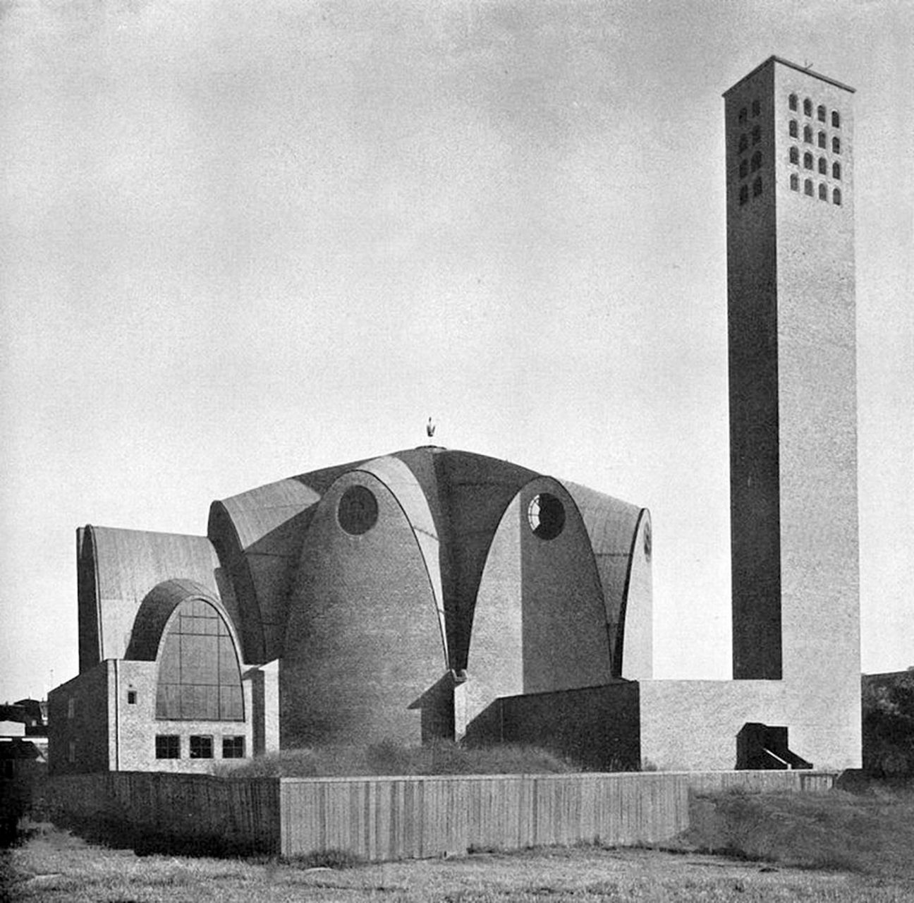 St. Engelbert.  The church in 1962