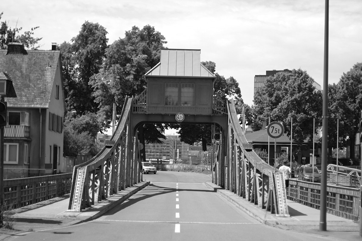 Drehbrücke. Brückenbauanstalt Harkort. Fertigstellung: 1908