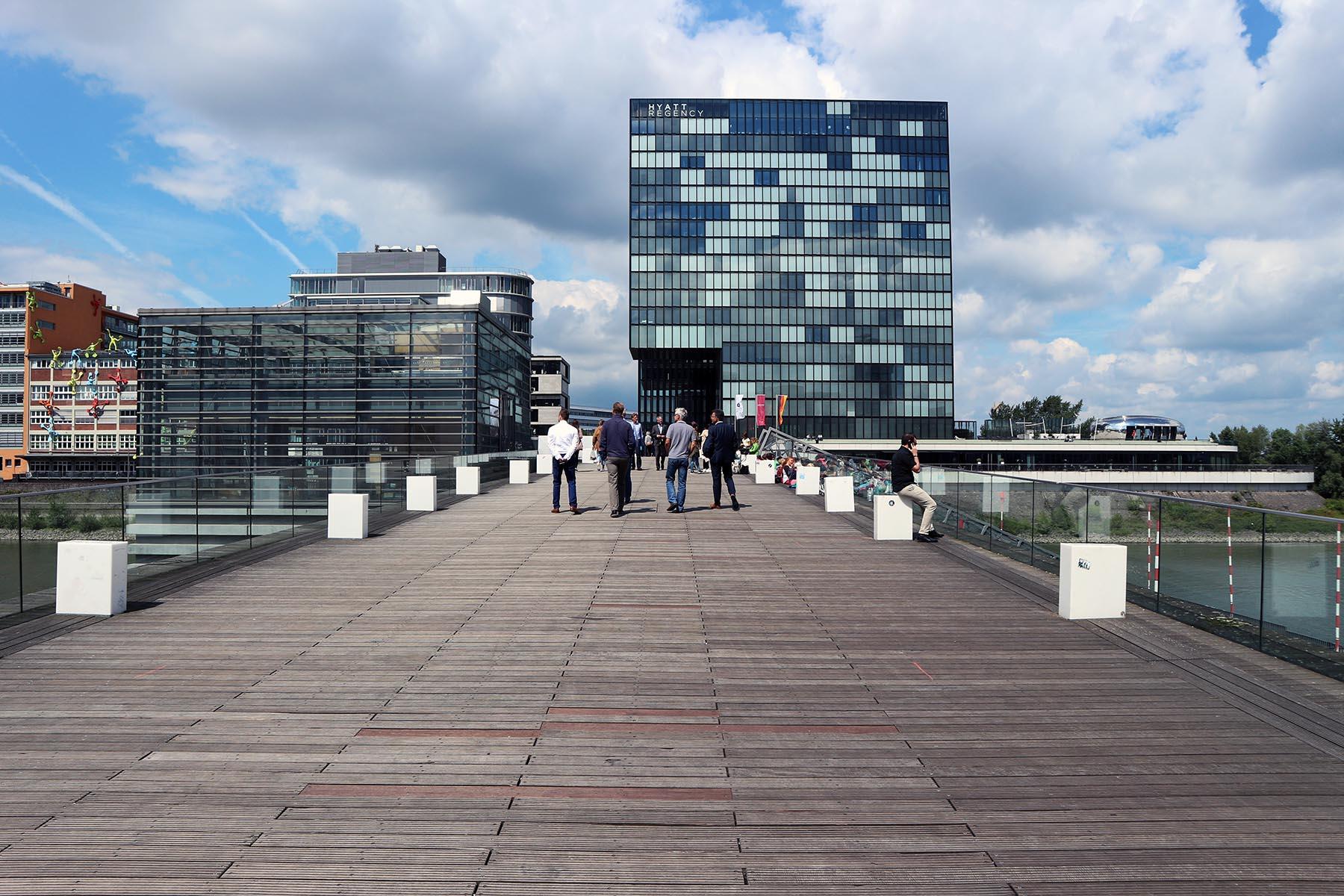 The Living Bridge.  Length 150 m by sop architekten (on behalf of JSK architects). Completion: 2005.