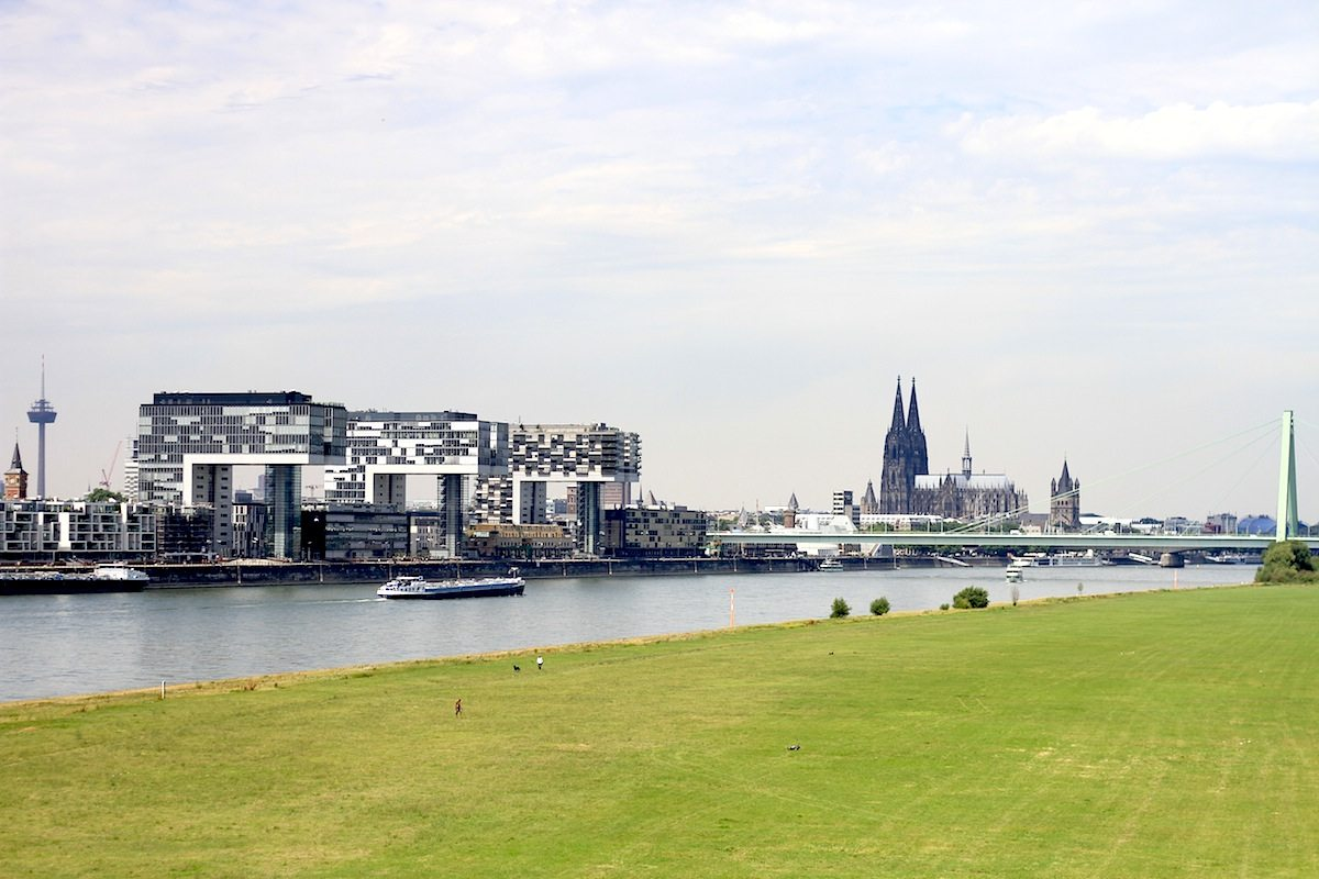 THE LINK to #urbanana: Rhine cities and the new harbours, part 3