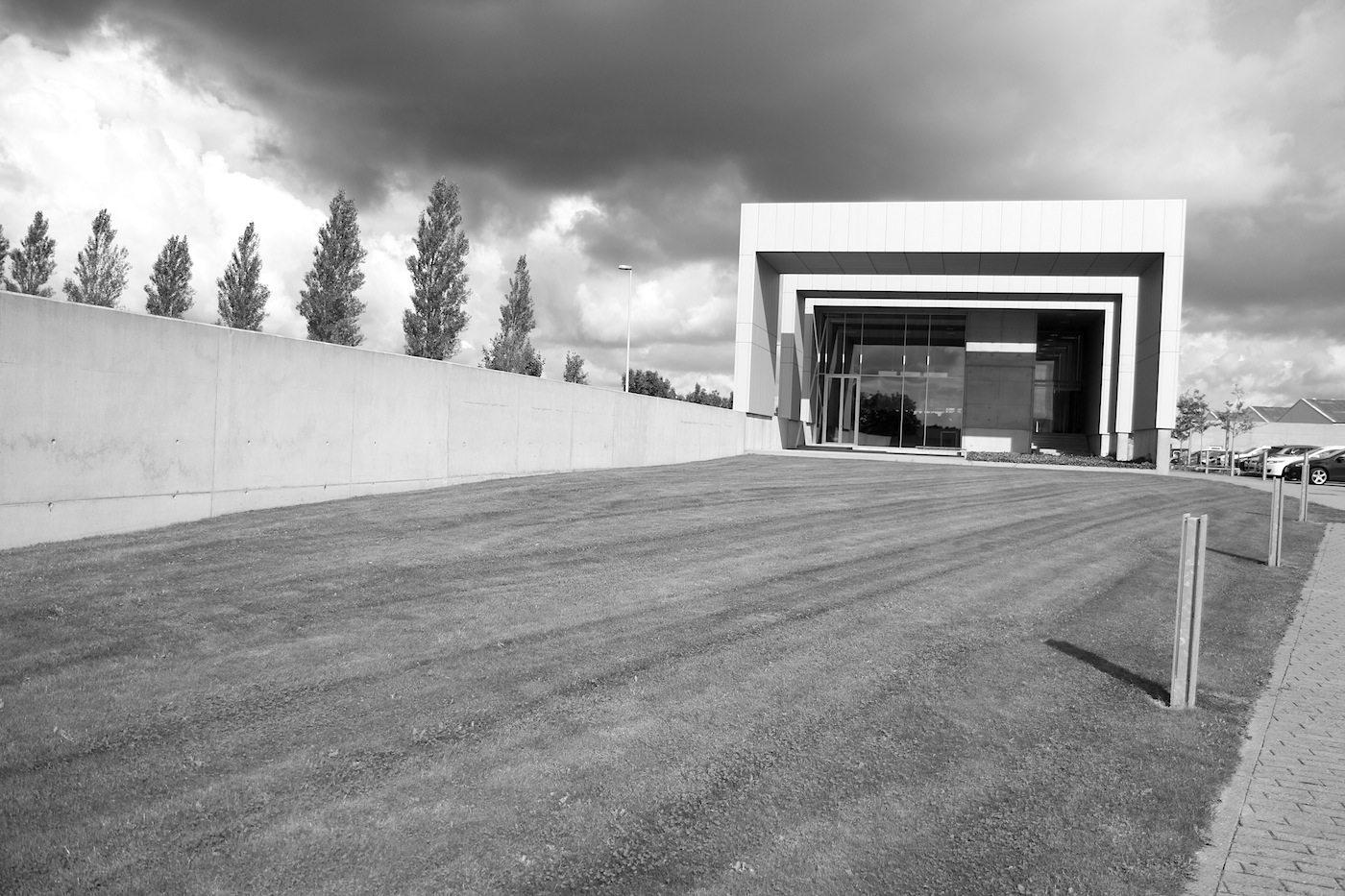 """Vola Akademie. Link Arkitektur (vorher """"Aarhus Arkitekterne""""). Fertigstellung: 2008."""