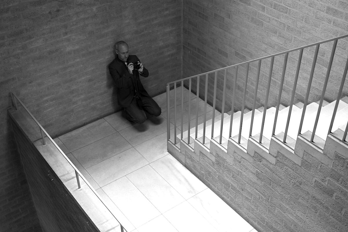 Schmela-Haus. Architekt und THE LINK-Co-Gründer Hendrik Bohle