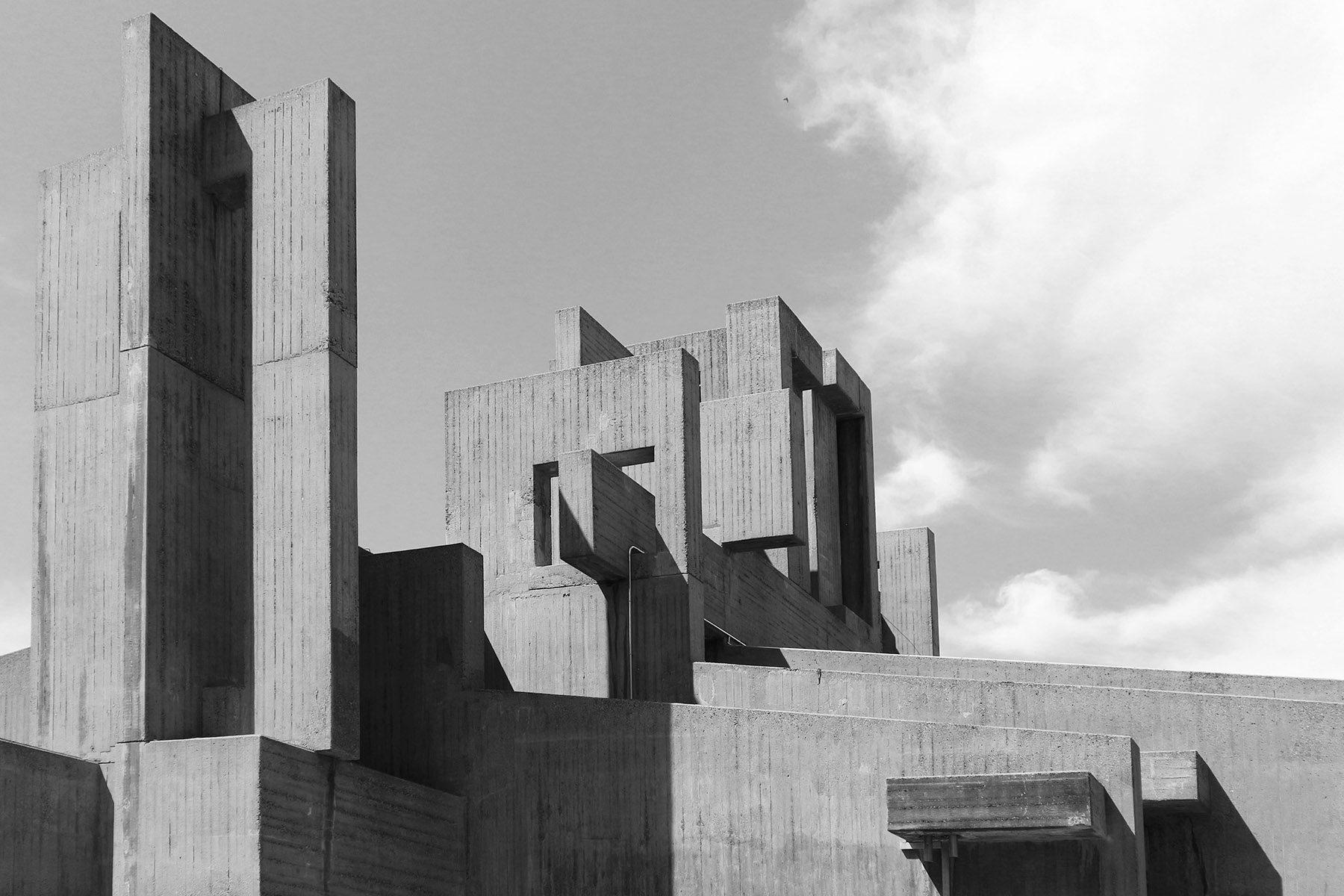 Kirche der katholischen Hochschulgemeinde. Der Architekt Heinz Buchmann und ...