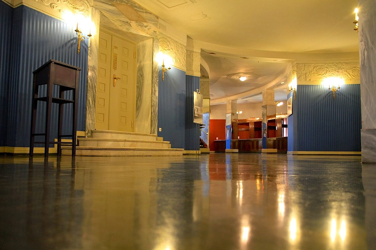 Staatstheater Cottbus, Großes Haus. ... die Innengestaltung.