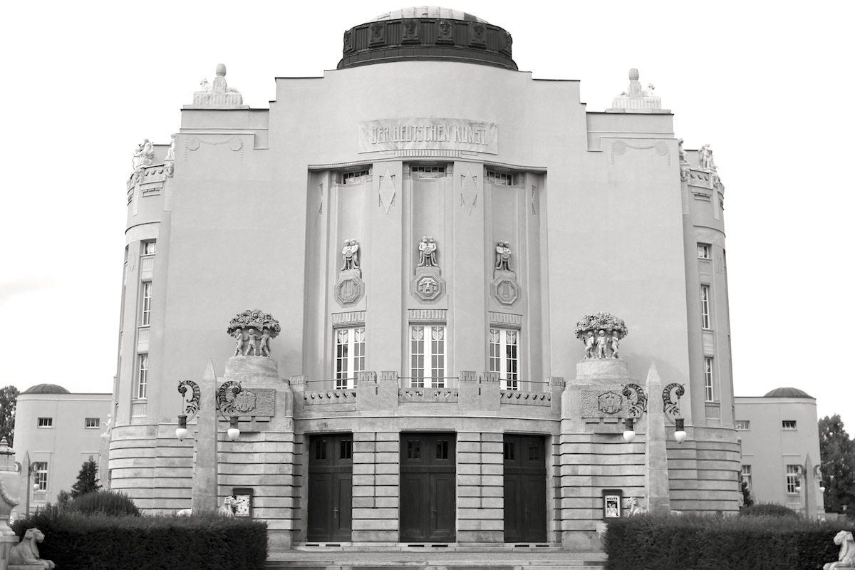 Staatstheater Cottbus, Großes Haus. Von Bernhard Sehring entworfen. Fertigstellung: 1908.