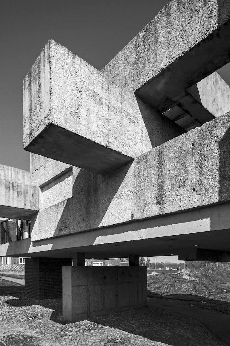 Apollo Pavillion, Peterlee. 1969, Architekt: Victor Pasmore