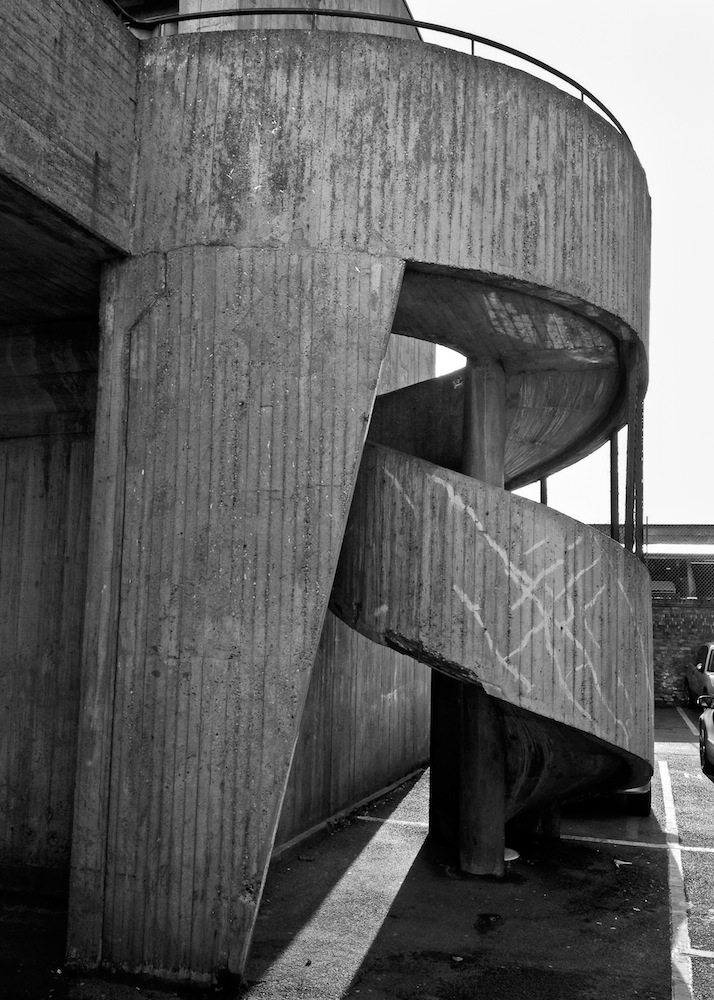 Eros House, Catford, London. 1960-1963, Architekt: Rodney Gordon for the Owen Luder Partnership