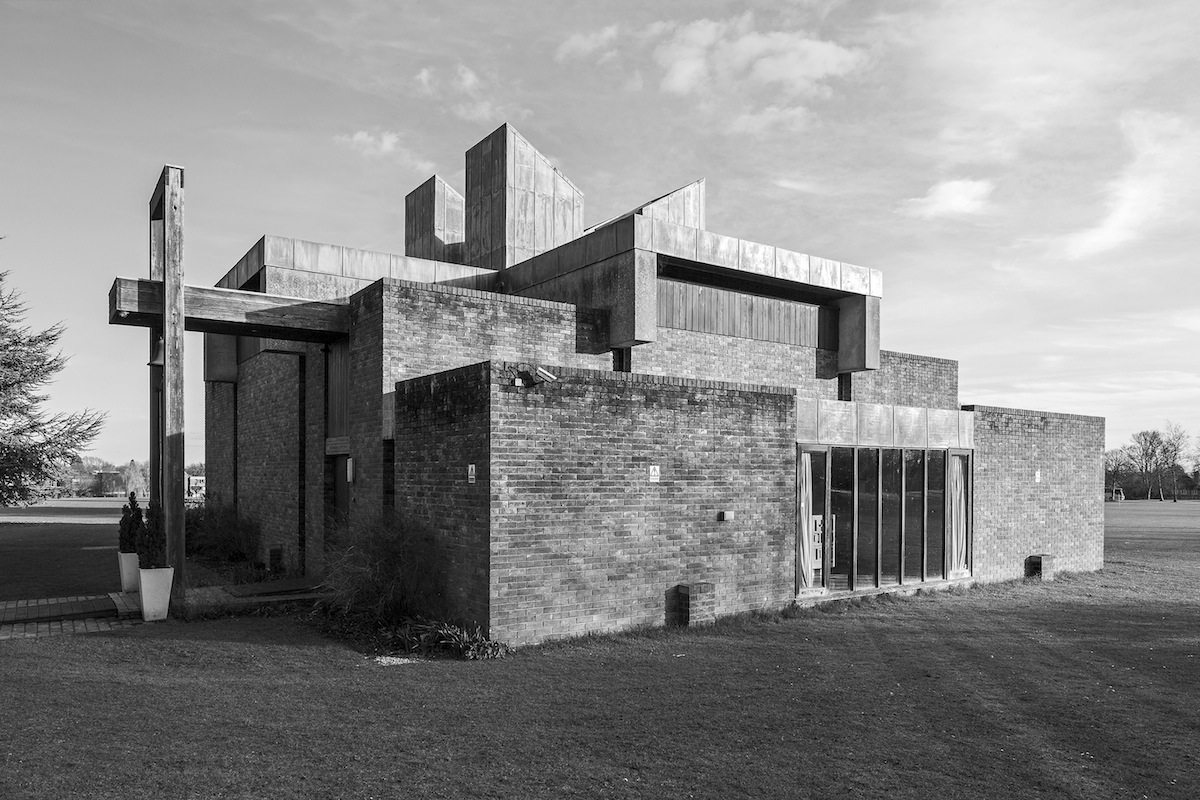 The Chapel at Churchill College, Cambridge. 1967, Architekt: Sheppard Robson