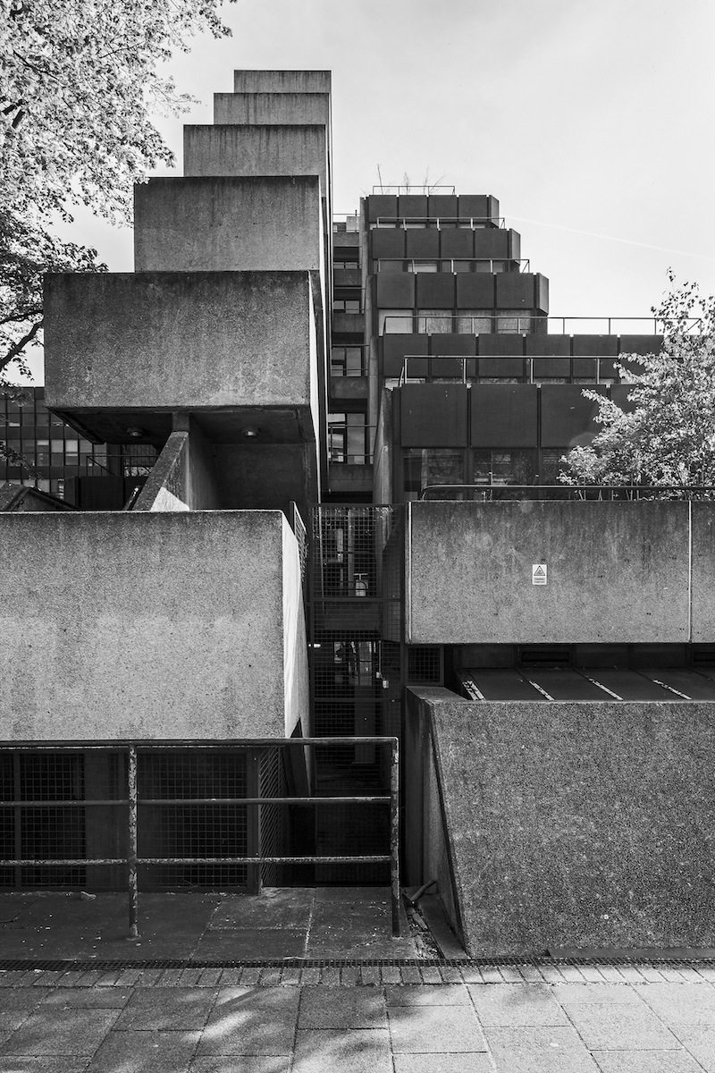 Institute of Education, London.  1970–76, Architekt: Denys Lasdun