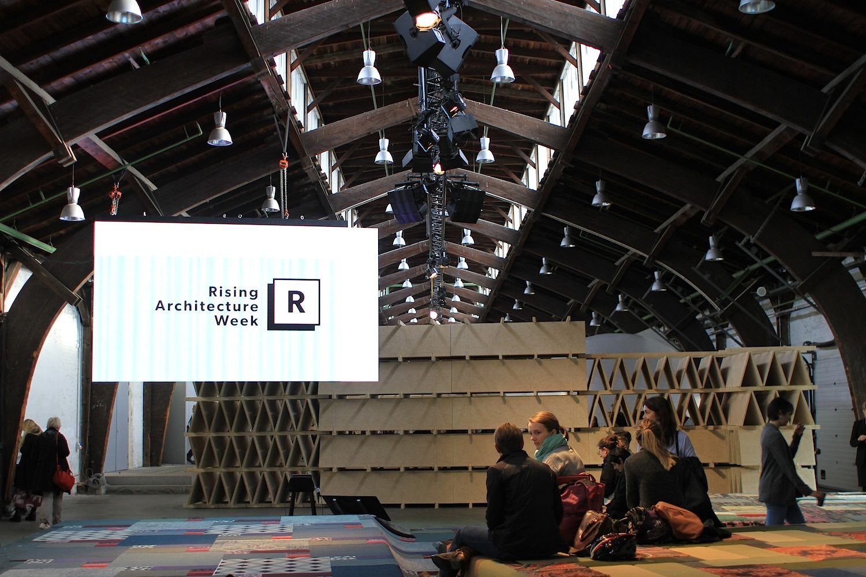 Rising Architecture Week. Das mehrtägige Architekturfestival hatte seinen Höhepunkt an zwei Kongresstagen.
