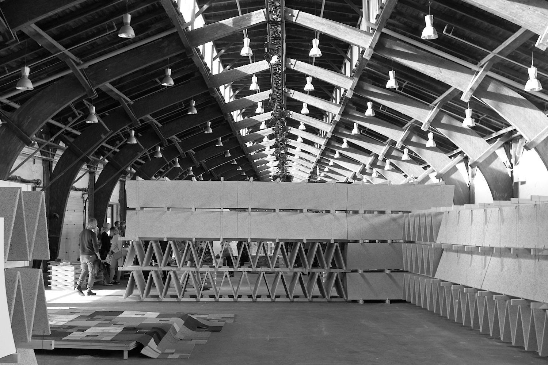 Rising Architecture Week. Für die Installationen im ehemaligen Güterbahnhof Godsbanen war das Berliner Kollektiv raumlabor verantwortlich.