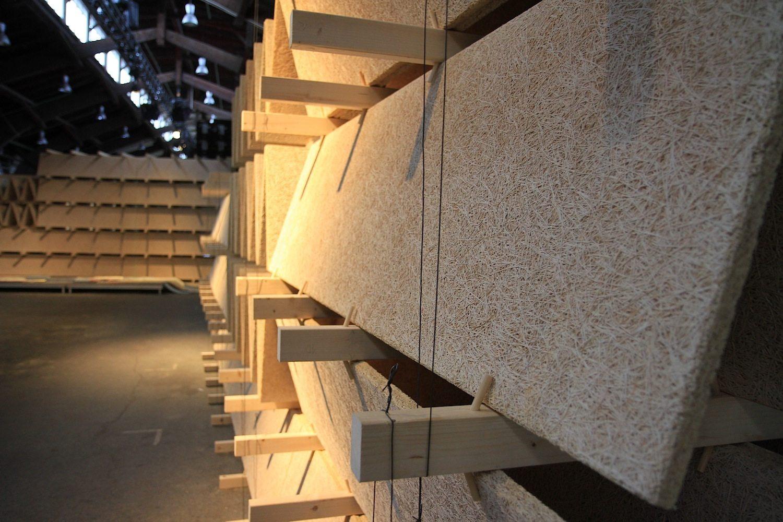 """Rising Architecture Week. Der interaktive Workshop-Bereich des Kongresses hieß """"Playground"""" und wurde ebenfalls von raumlabor gestaltet."""