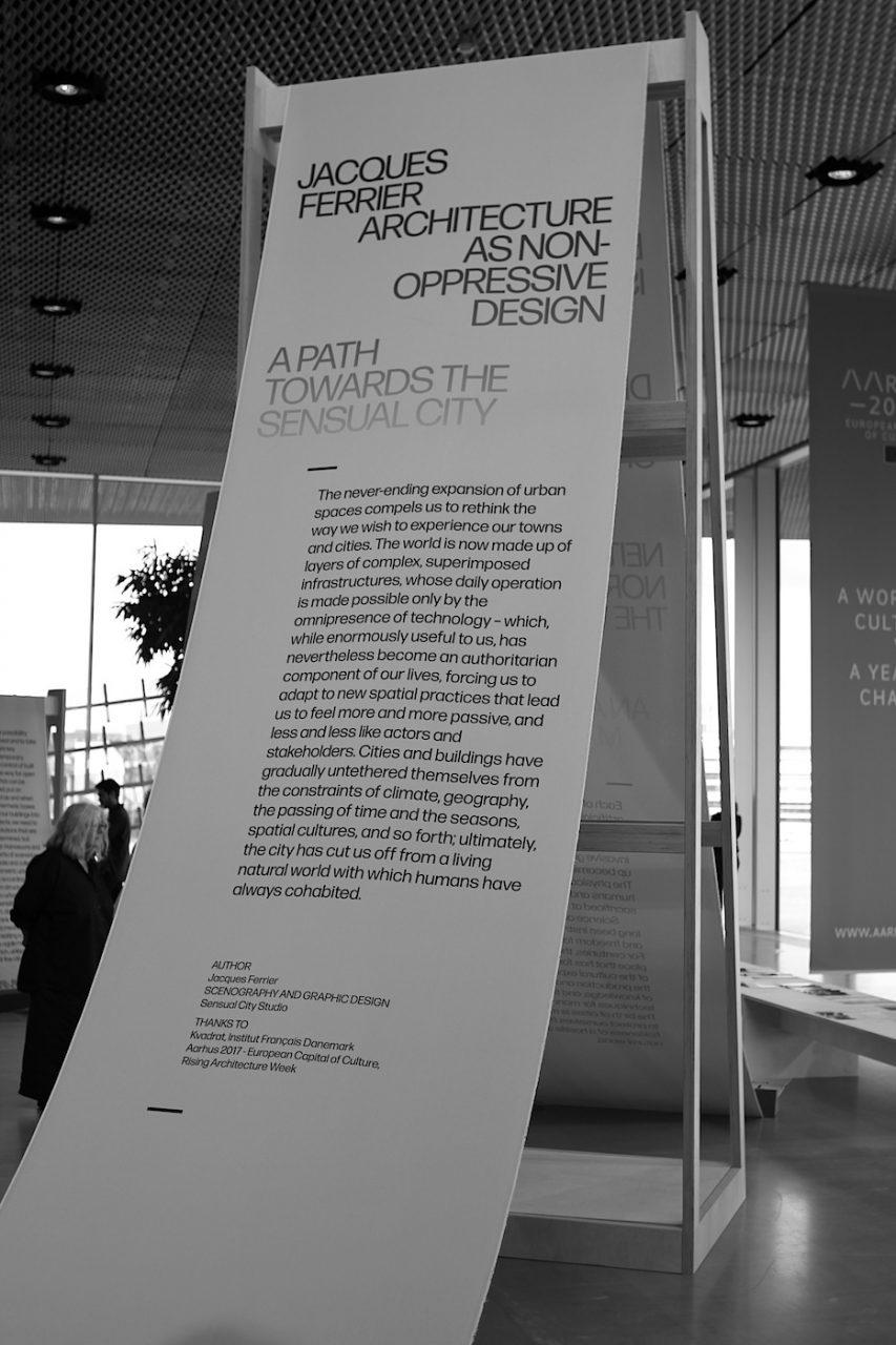 Rising Architecture Week. Ein neuer Vertrag zwischen Natur und Technik, eine neue Verbindung aus Architektur und Menschlichkeit: so lautete ein Tenor der Ausstellung.