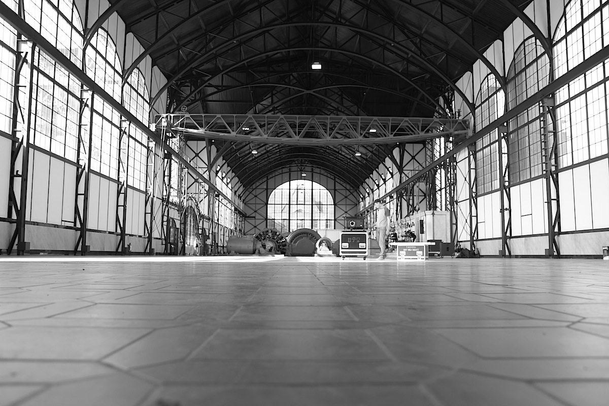 Weite. Die Sanierung der Maschinenhalle wurde 2007 gestartet und ...