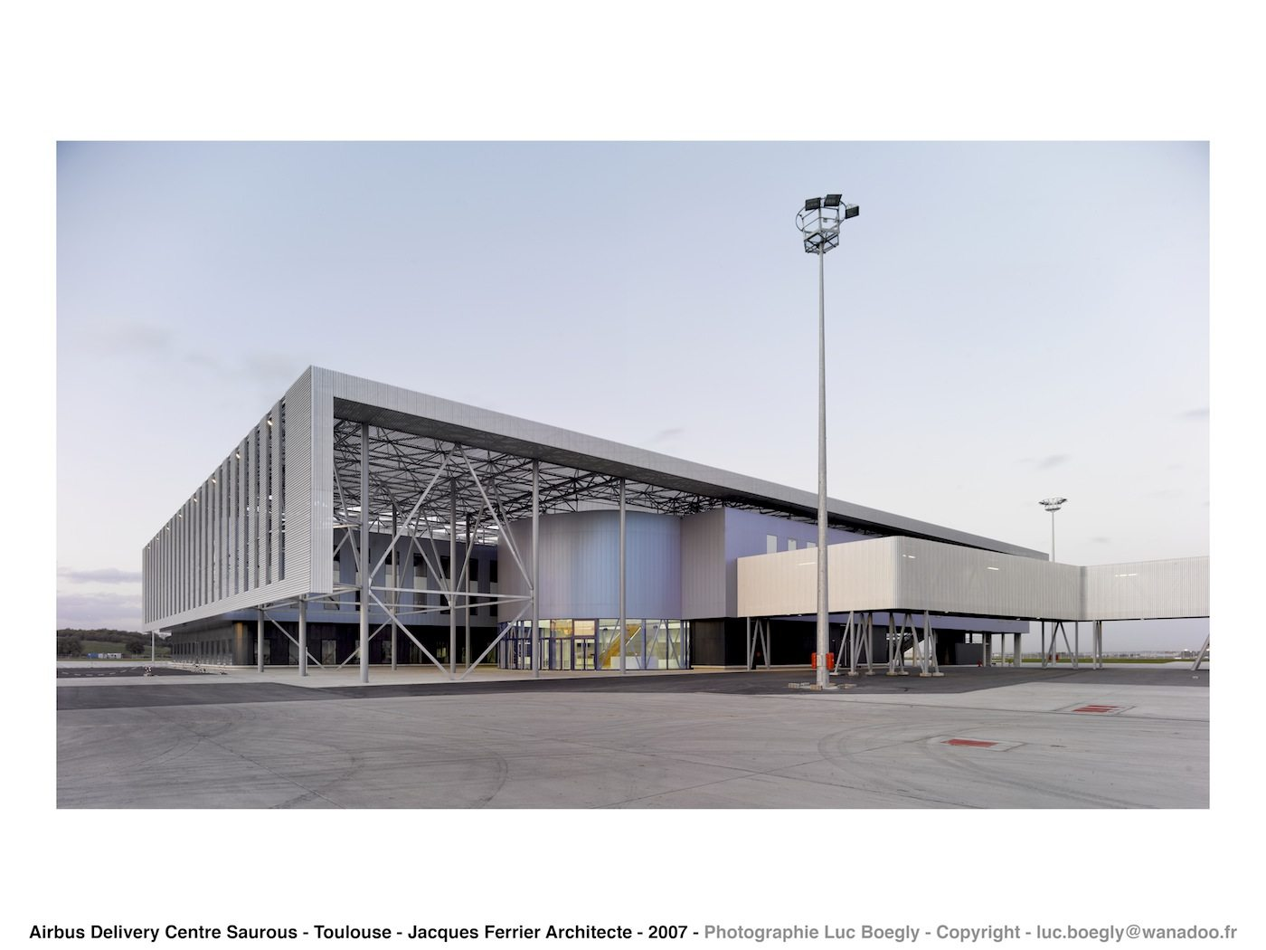 Airbus Delivery Centre.  in Toulouse, France. Completed: 2006