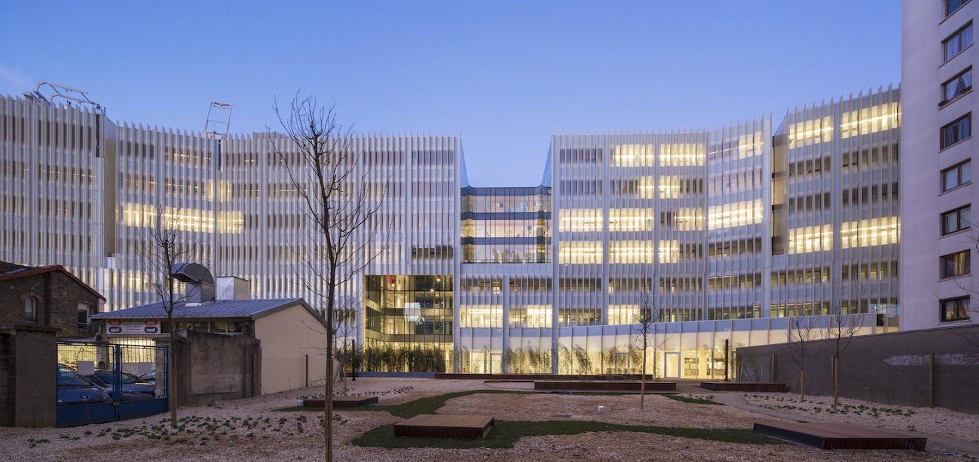 Hachette Livre Headquarters. Vanves, near Paris, France. Completed: 2015.