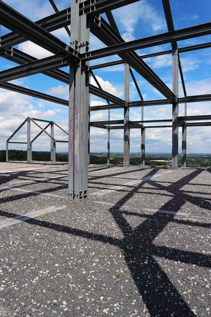 Halde Norddeutschland. Der Konzept für die 102 Meter hohe Halde ...