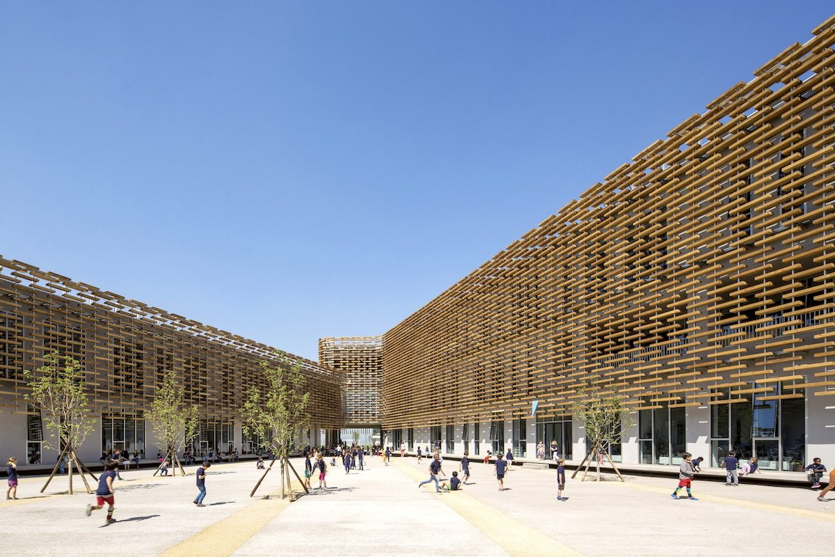French International School of Beijing. In China. Completion: 2016