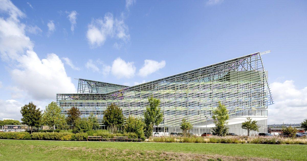 Headquarters of Métropole Rouen Normandie. ... the figurehead of the future eco-district.