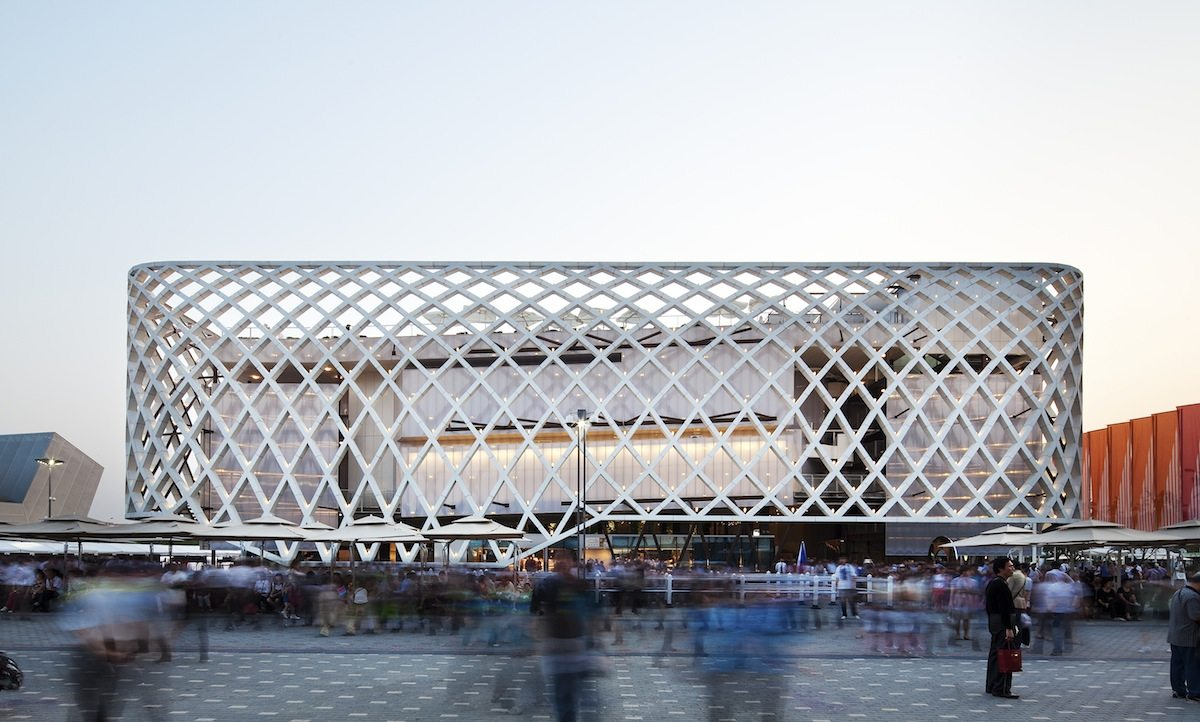 French Pavilion at Shanghai Expo 2010.  Completed: 2010.