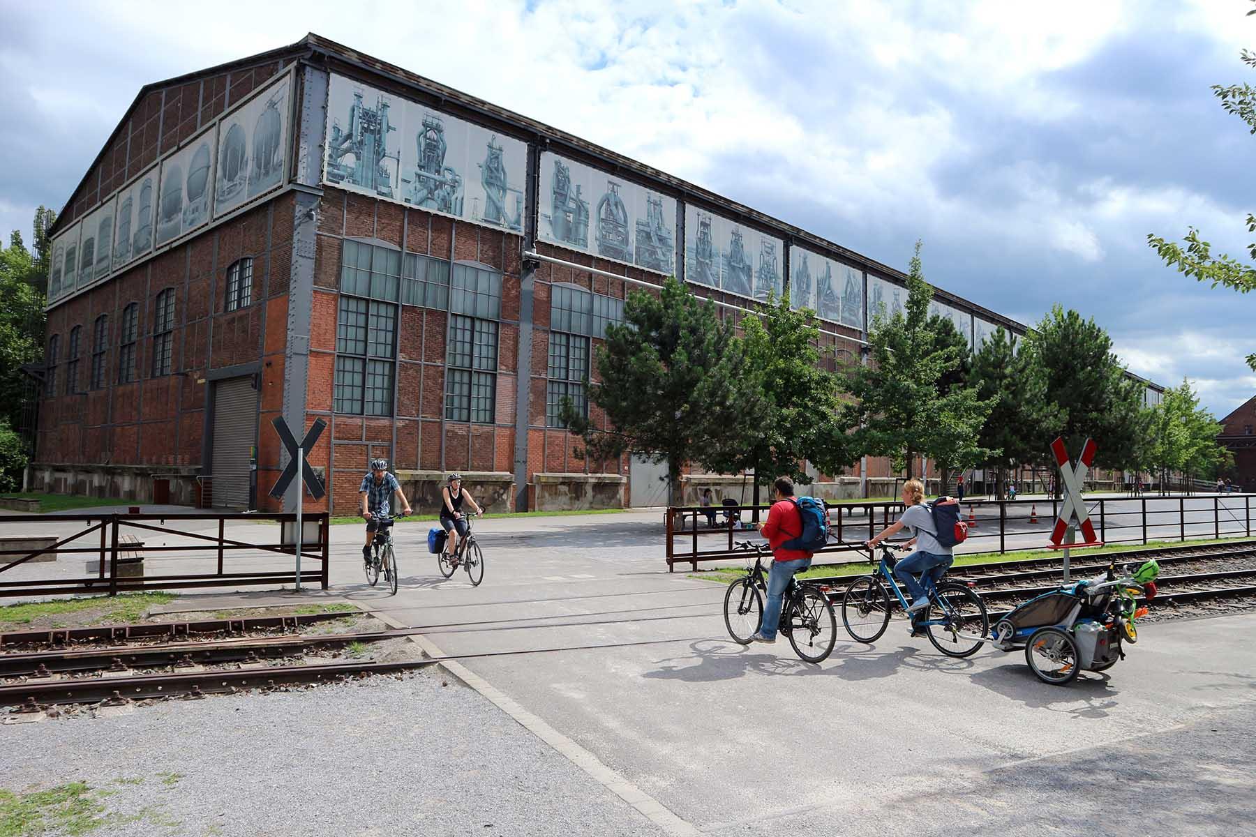 """Landschaftspark Duisburg-Nord. Die Zeitung """"The Guardian"""" zählte ihn 2015 zu den 10 besten Stadtparks der Welt."""