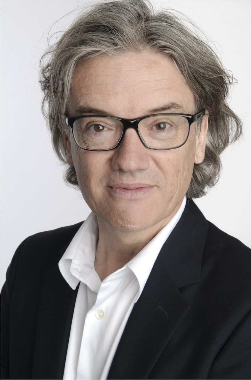 Jacques Ferrier.  Architect and urban planner