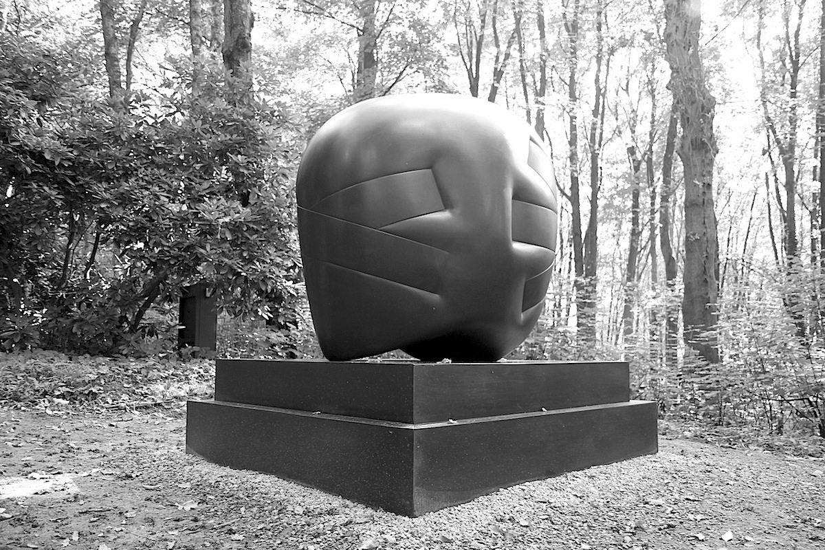 Skulpturenpark Waldfrieden. Kopf III, Hede Bühl