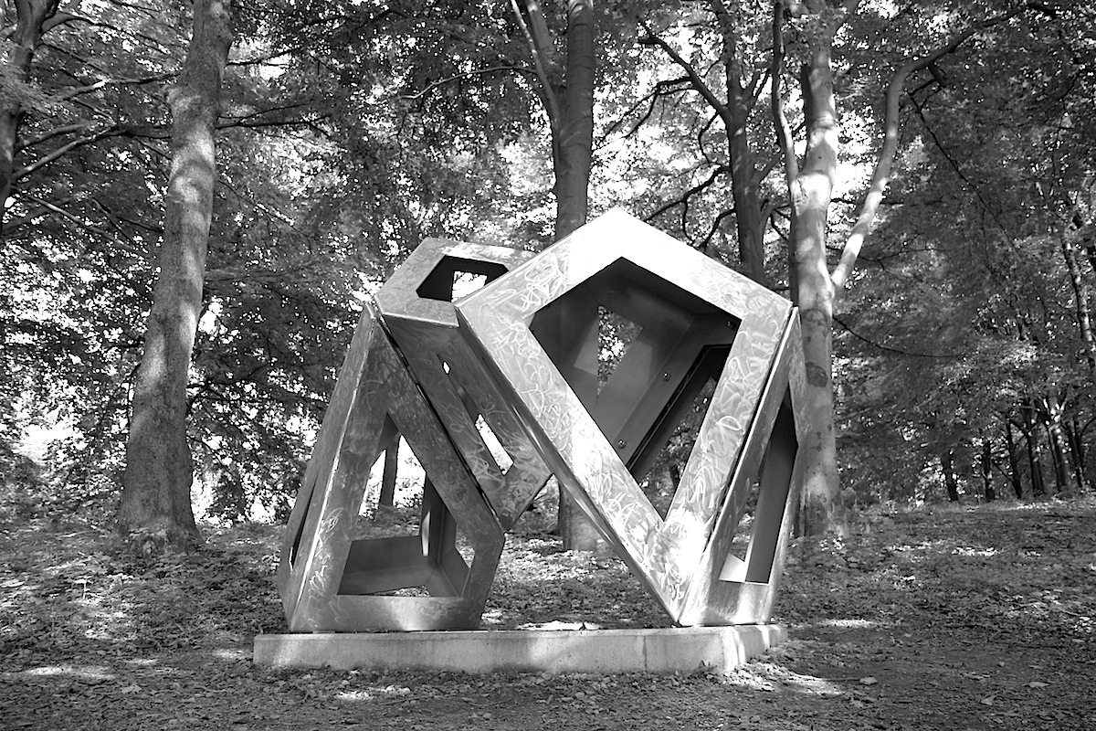 Skulpturenpark Waldfrieden. Aramis, Richard Deacon