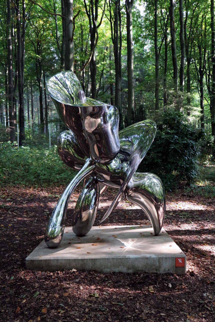 Skultpturenpark Waldfrieden. Distant Cousin, Tony Cragg