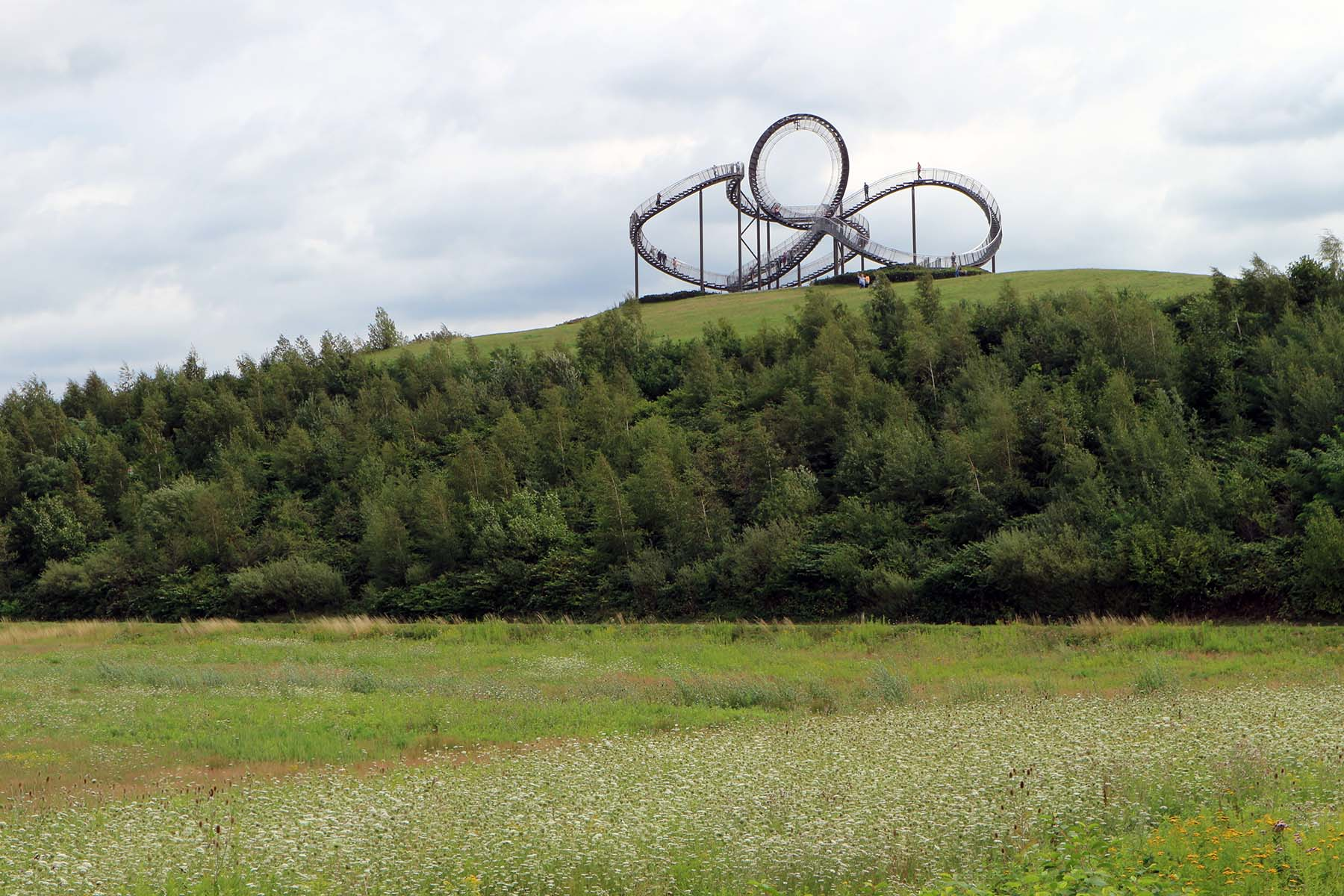 Tiger and Turtle – Magic Mountain.  Artwork by Heike Mutter and Ulrich Genth
