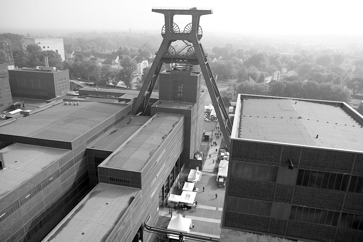 Zeche Zollverein.  ... schon kurz nach Fertigstellung aufgrund seiner durchdachten, sachlichen Gestaltung berühmt und wurde zur ...