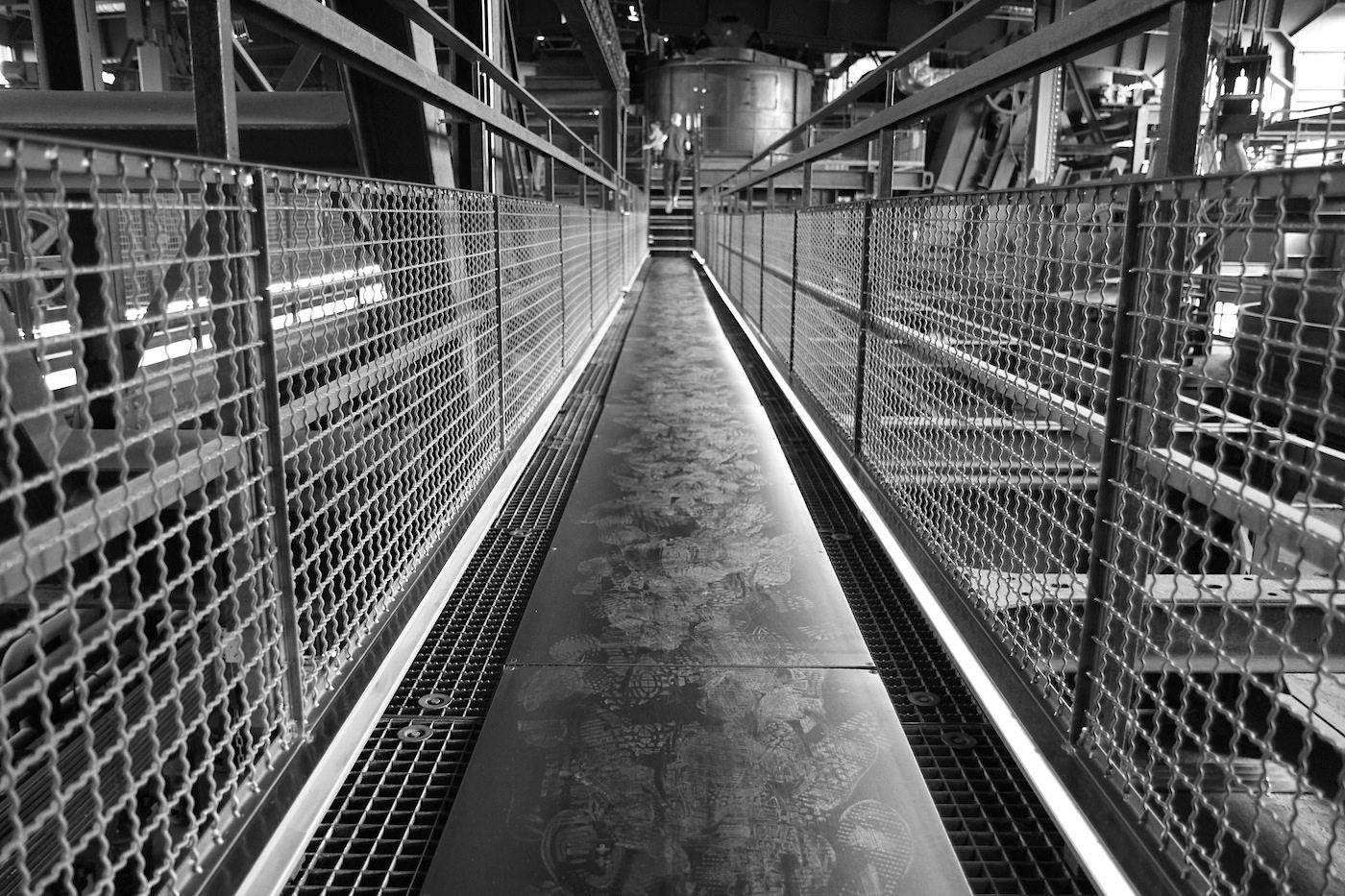 Zeche Zollverein. Für den aufwendigen und komplizierten Umbau war der niederländische Architekt Rem Koolhaas mit seinem Büro OMA (zusammen mit Böll und Krabel Architekten aus Essen) zuständig.