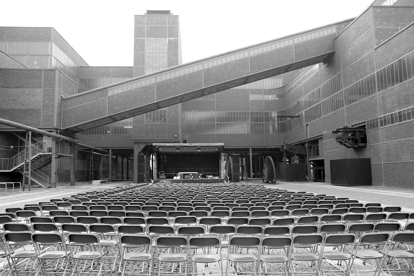 Zeche Zollverein. Die Ernennung zum UNESCO-Welterbe 2001 war der Beginn für den weiteren Ausbau des Geländes