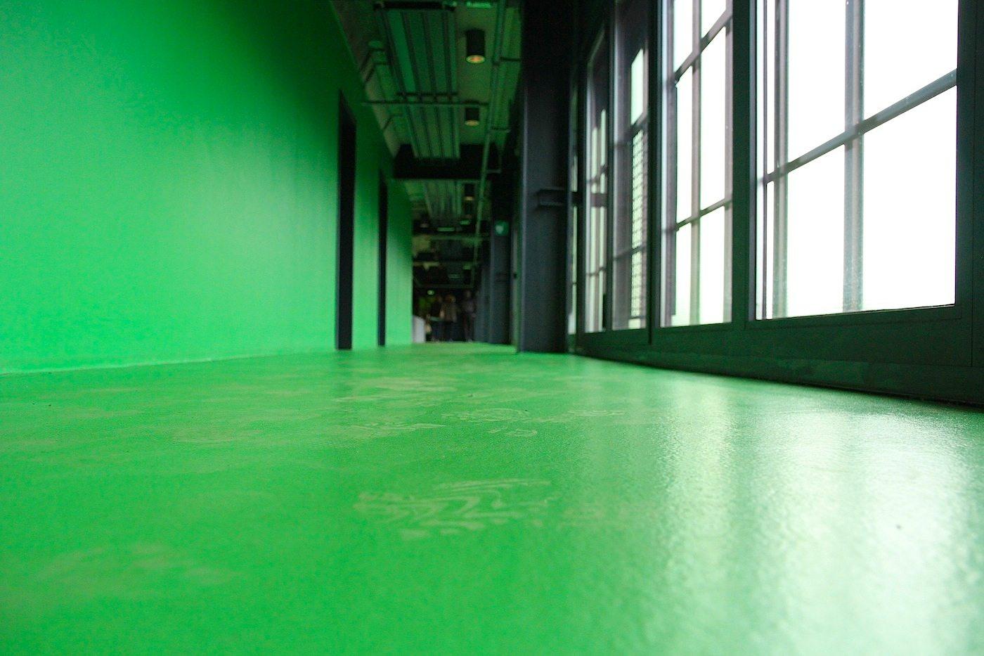 Zeche Zollverein.  Das Ausstellungskonzept stammt von hg merz aus Berlin und Stuttgart.