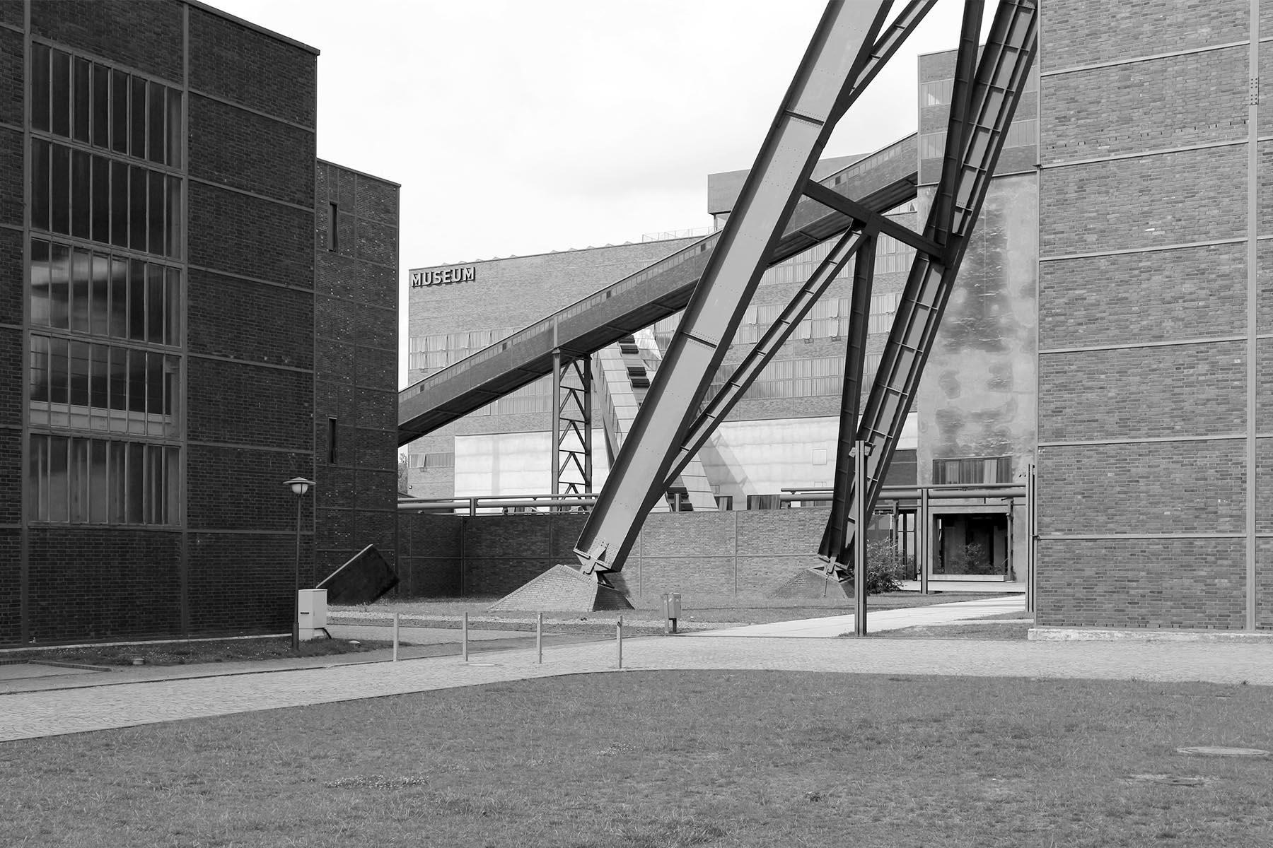Zeche Zollverein.  ... von 1851 bis 1986 betrieben und ...
