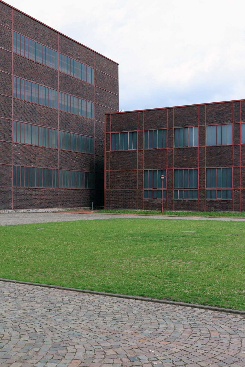 Zeche Zollverein. The conversion was completed in 1996