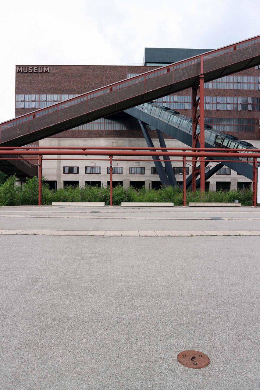 Zeche Zollverein. ... wurde ab 1986 für viele Jahre umgebaut.
