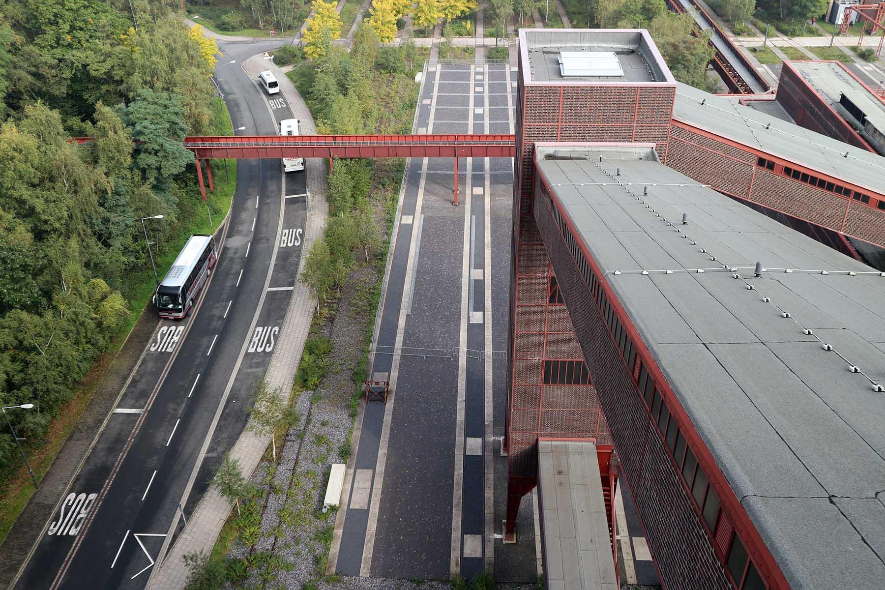 Zeche Zollverein. ... Ikone der Montanarchitektur