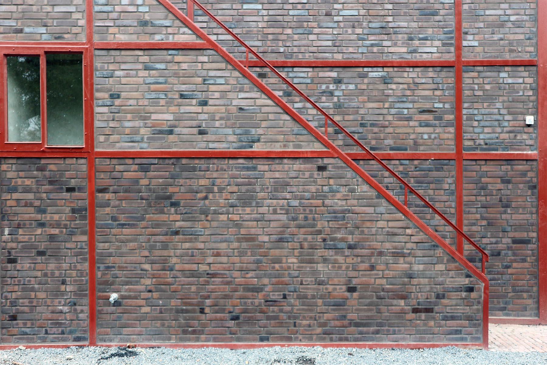 Zeche Zollverein. Auch hier zeigt sich die Gestaltung im Sinne des Neuen Bauens: klar, sachlich, ornamentfrei.