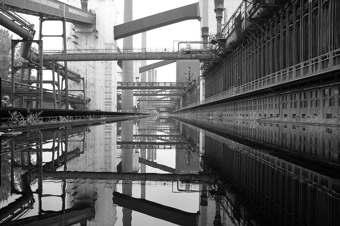Zeche Zollverein.  Die Kokerei Zollverein war von 1961 bis 1993 aktiv. Sie galt als die modernste Kokerei Europas.