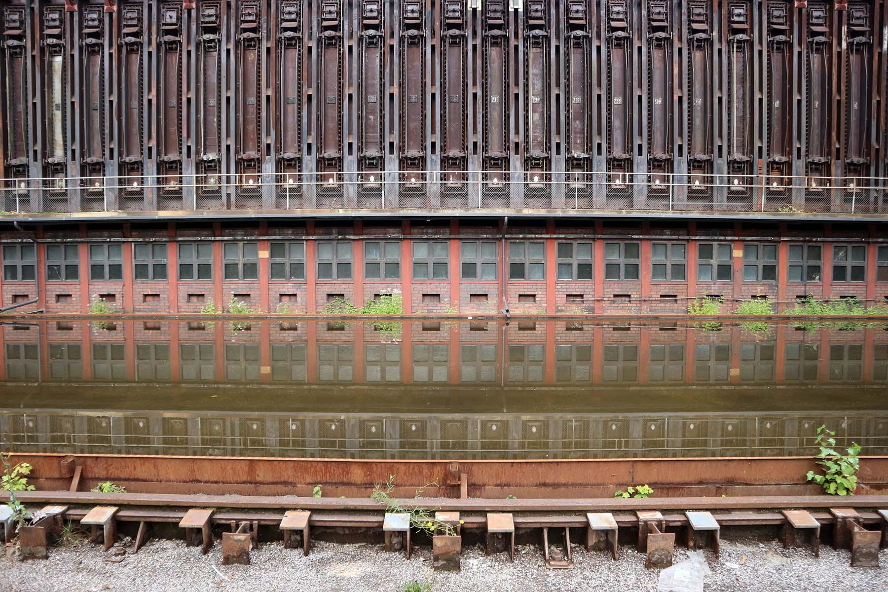 Zeche Zollverein. Die Gestaltung übernahm Fritz Schupp.